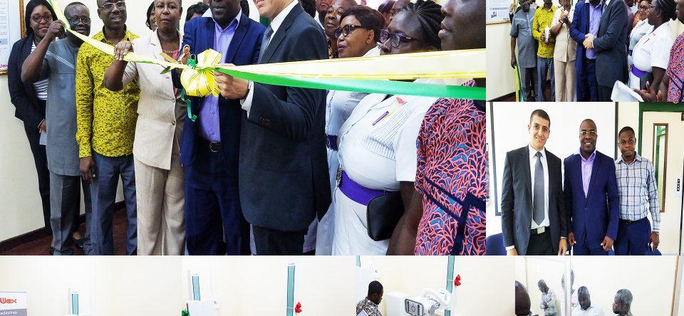 Inauguration of X-Ray Machine