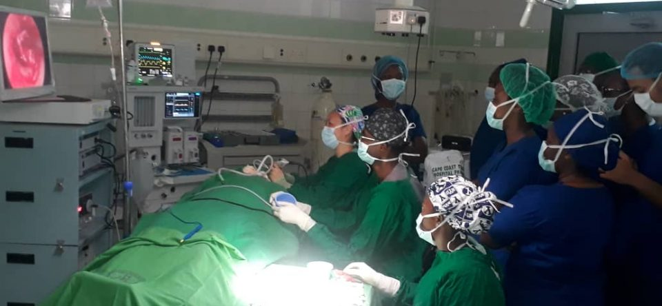 Utah University team perform surgery at CCTH