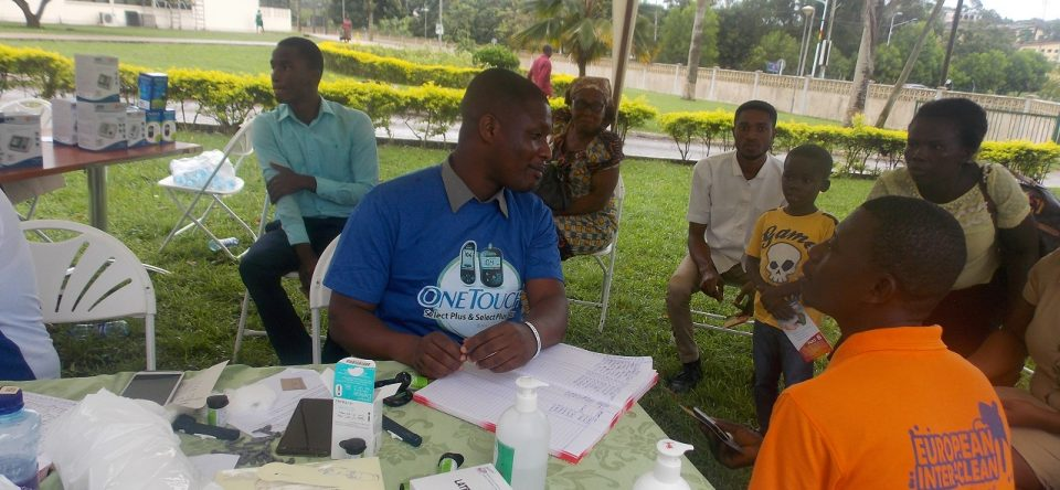 Celebration of World Diabetes Day at CCTH