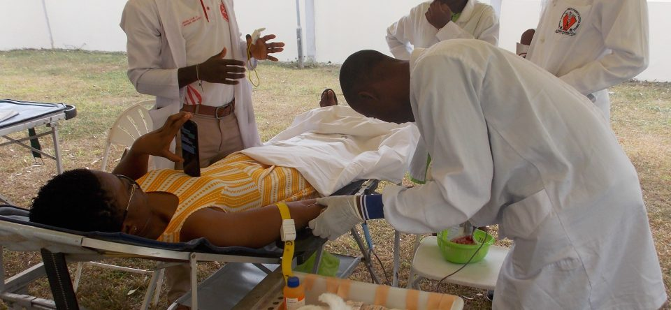 Blood Donation in conjunction with MTN
