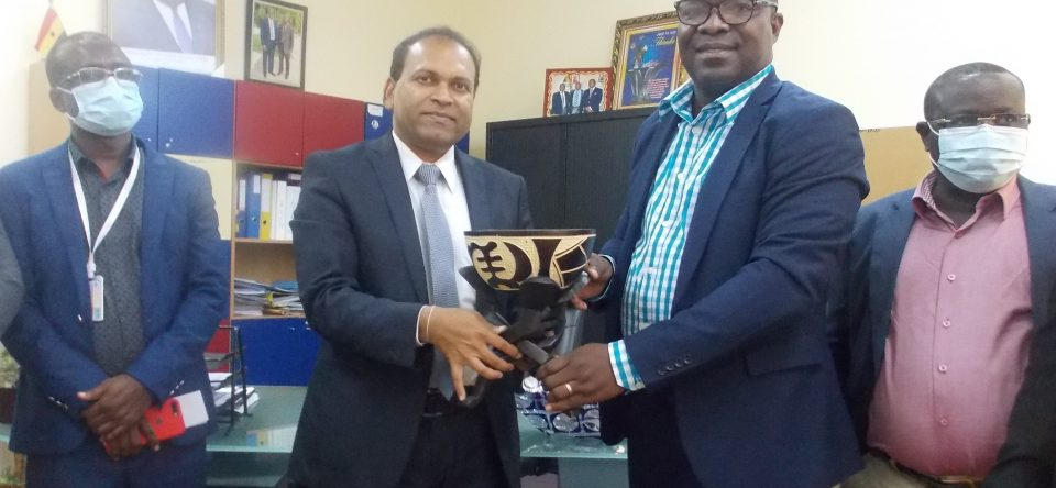 Visit by Indian High Commissioner to CCTH